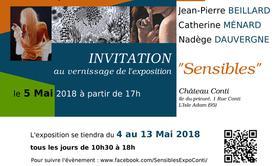 "Exposition de Peinture ""Sensibles"""