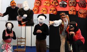 Stage Jeu masqué, Commedia dell'arte