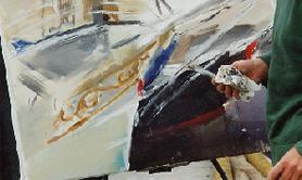 Béatrice Avenel  - Professeur d'arts plastiques, artiste peintre
