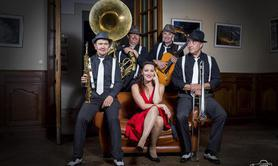 BLIND TIGER SWING QUINTET - Groupe swing avec chanteuse .