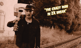 "Slim faste & his one man band - ""The crazy man in ZX break"""