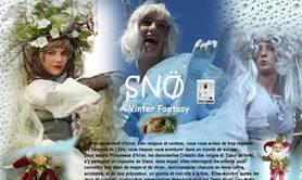 L'ARBRE A NOMADES - SNÖ - A Vinter Fantazy - Spectacle intervention NOEL