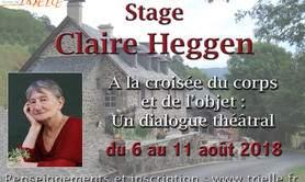 CLAIRE HEGGEN - A la croisée du corps et de l'objet