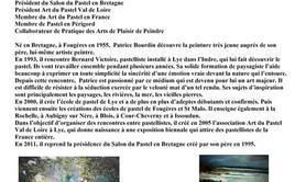 """Stage pastel de Patrice Bourdin thème """"Marine"""""""