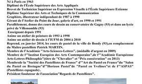 """Stage pastel Laurent Chantraine thème """"Paysage"""""""