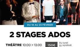 2 stages Ados Théâtre - Comédie musicale