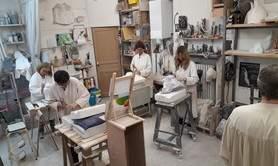 Paola Palmero - Cours de sculpture sur pierre