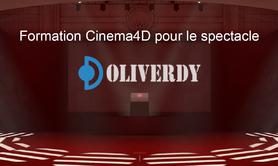 Cinema 4D pour le spectacle | C4D Initiation