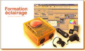 Formation agréée logiciel lumière : Sunlite sur 35h