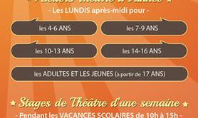 La Compagnie Autrement - Les ateliers théâtre d'Izabelle Zaza