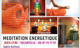 Sophie Baillieul - MEDITATION ENERGETIQUE INCARVILLE