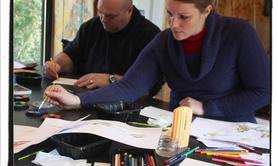 Marie-Laure KÖNIG - Cours de peinture pour adultes et adolescents