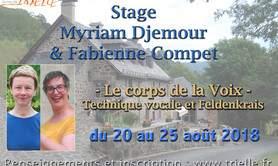 - Le corps de la Voix - Technique vocale et Feldenkrais