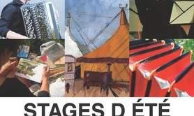 Stages d'Eté:interpréter, accompagner/peinture sur le motif