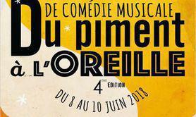 """Festival de comédie musicale """"Du Piment à l'Oreille"""""""