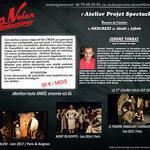 Nolan Productions - ATELIER PROJET SPECTACLE