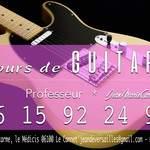 JeanDeVersailles - Professionnel Cours de Guitare -  Débutants - Moyen - Avancée