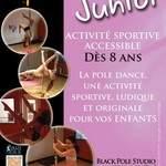 Black Pole studio - Cours de Pole Kids