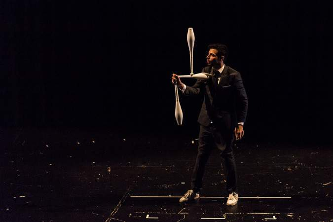 Asaf Mor - Artiste de Cirque