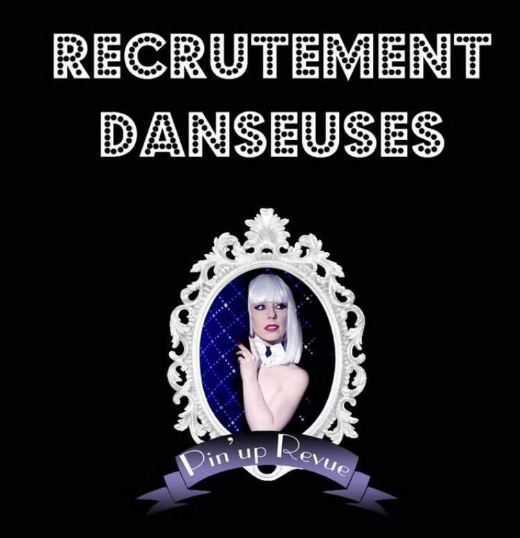 Revue cabaret recrute danseuses
