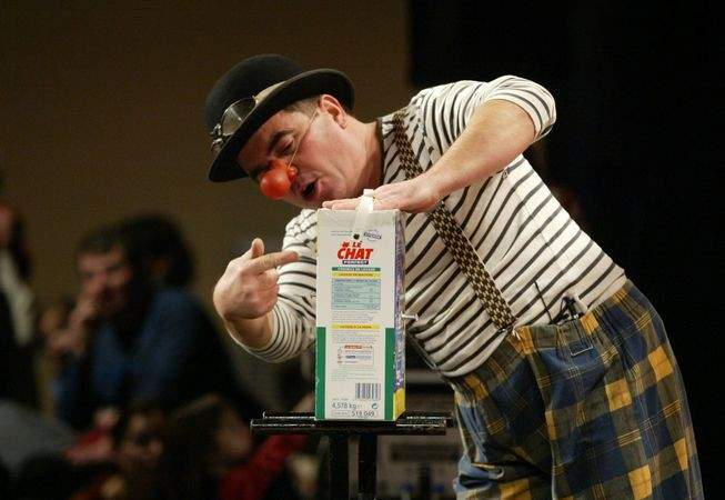 "Spectacle de Clown: ""Quand le Facteur devient Clown"""