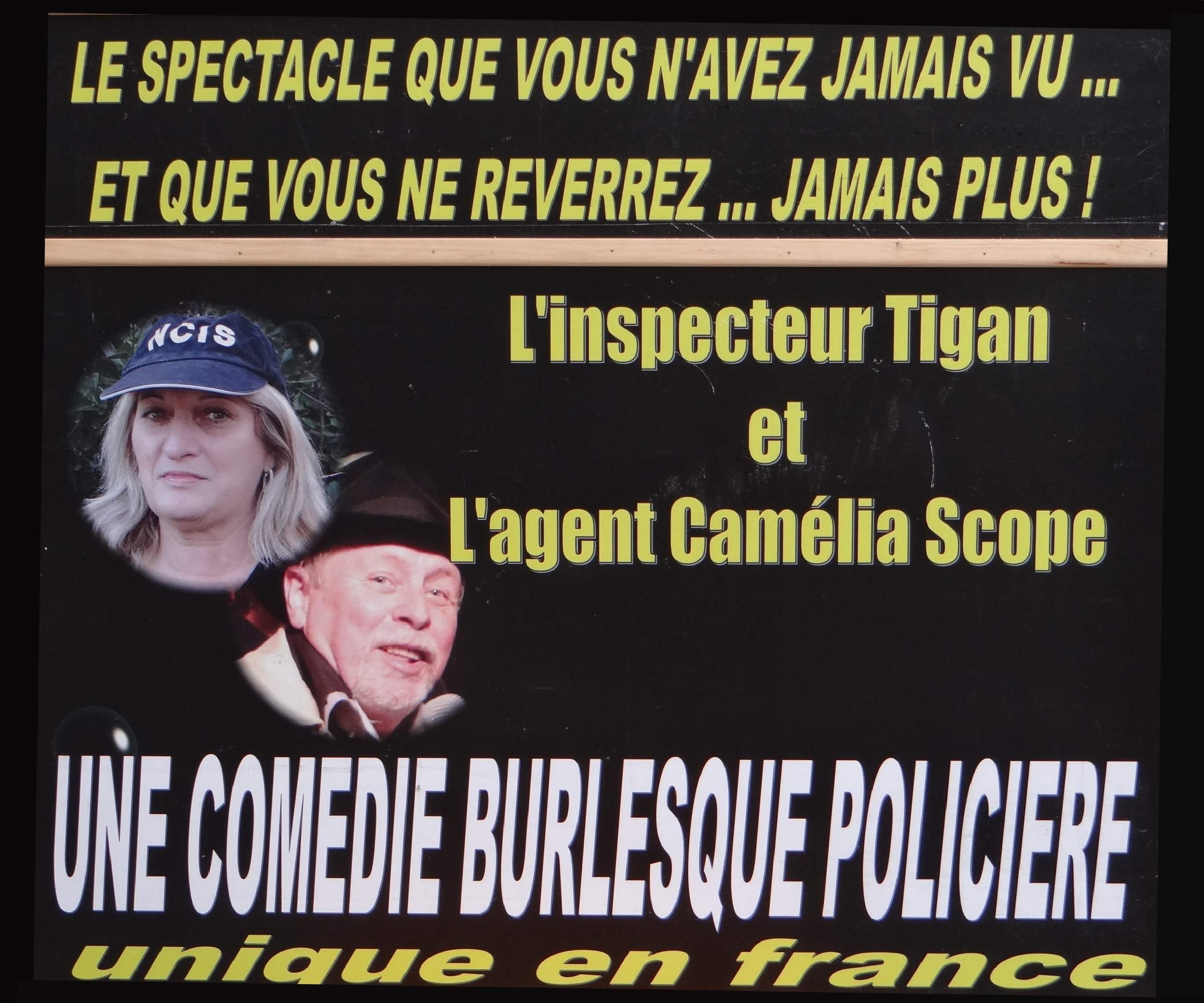 Inspecteur Tigan  - L'enquête policière totalement improvisée par le public