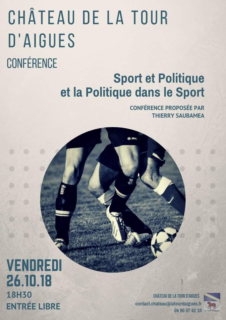 Sport et politique, et la politique dans le sport