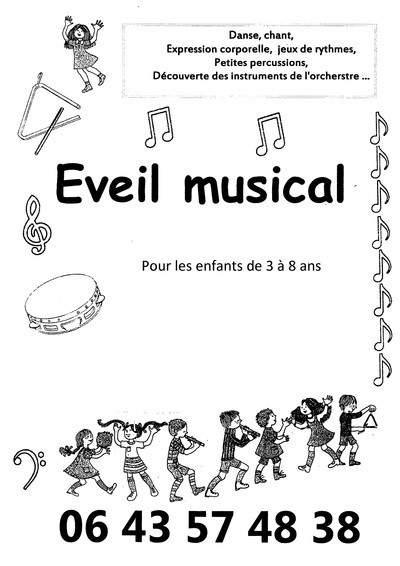 Cours Eveil Musical pour Associations ou écoles de musique