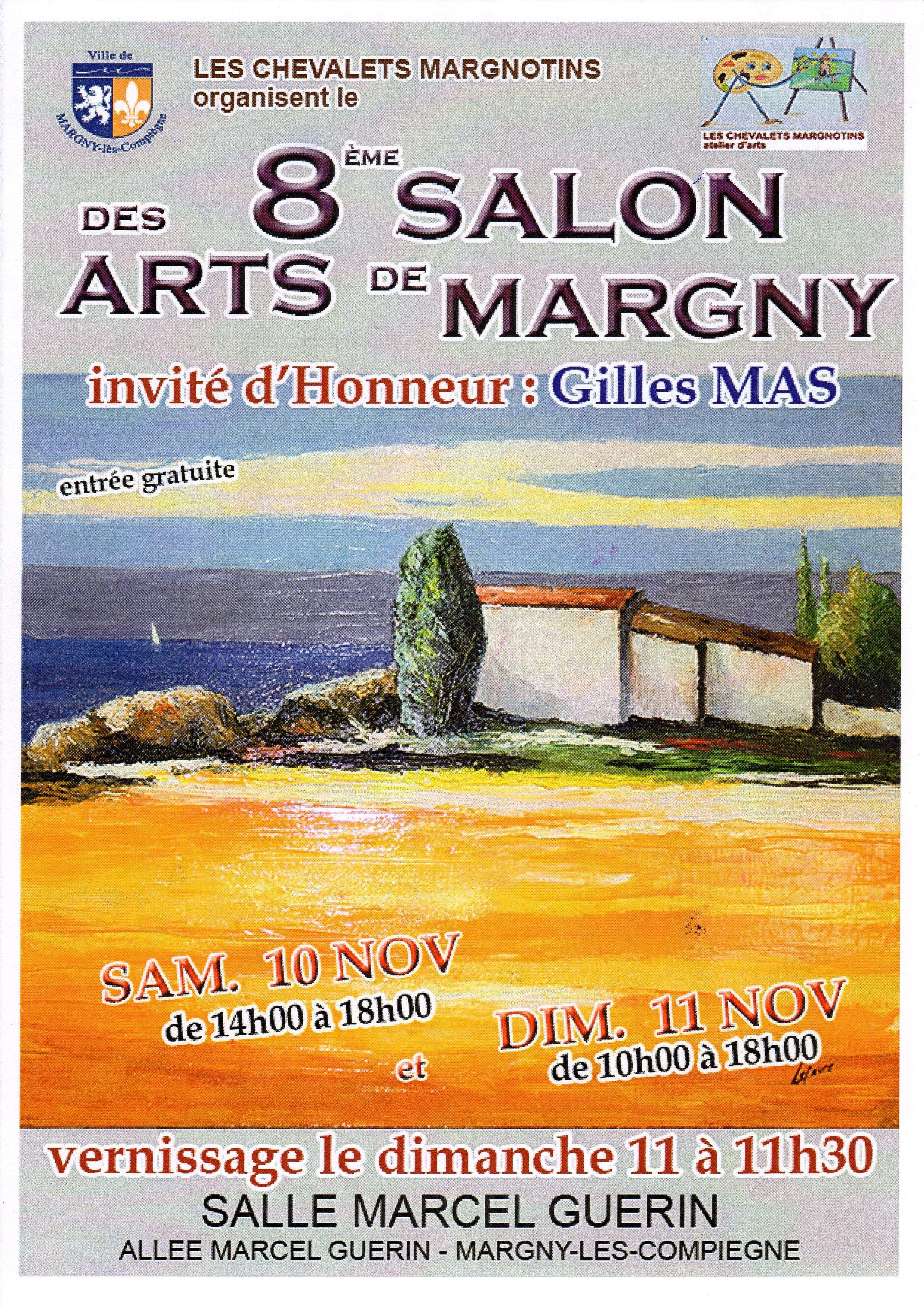 8ème SALON DES ARTS DES CHEVALETS MARGNOTINS Atelier d'Arts