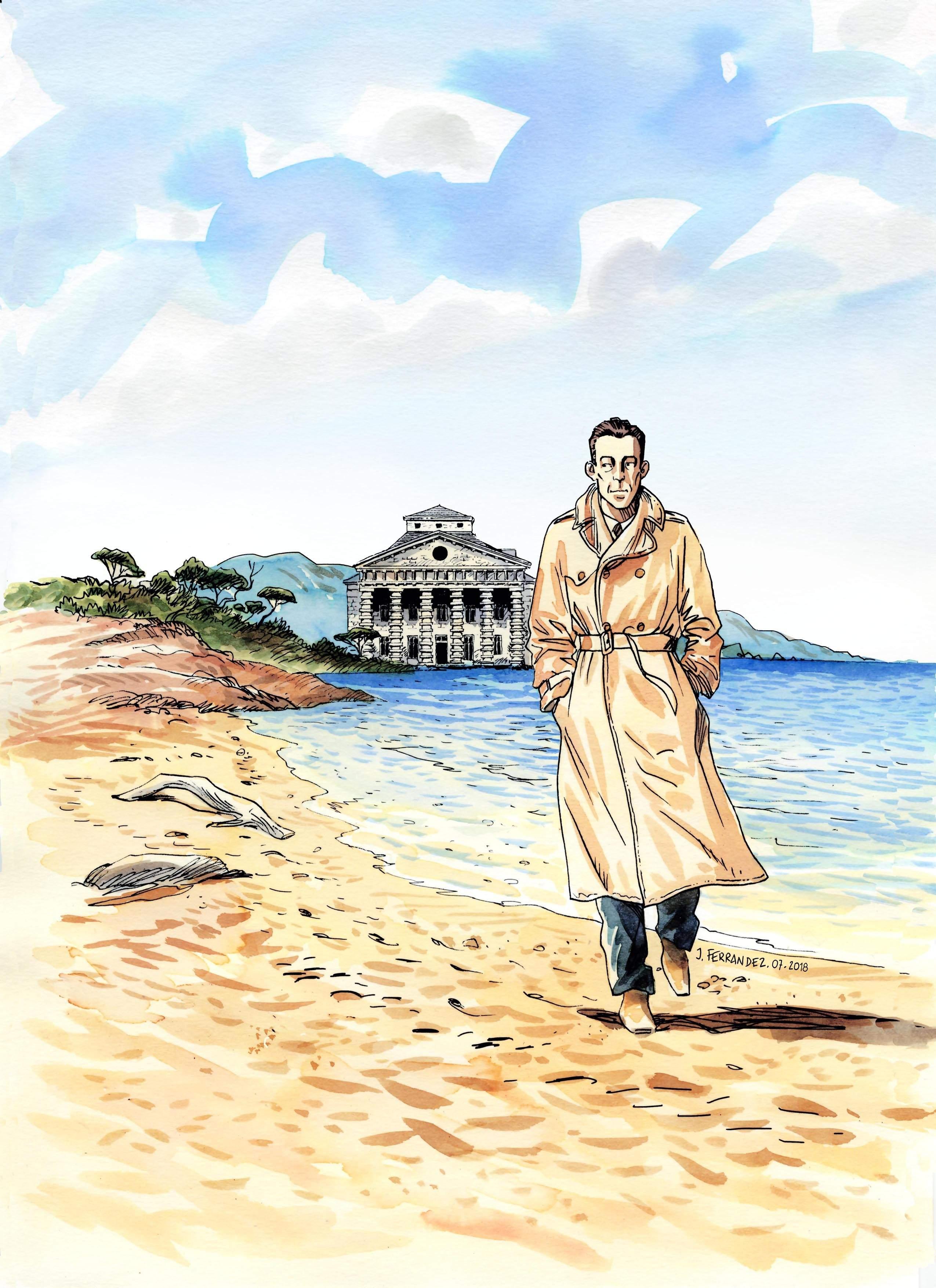 Jacques Ferrandez, l'oeuvre d'Albert Camus en bande dessinée