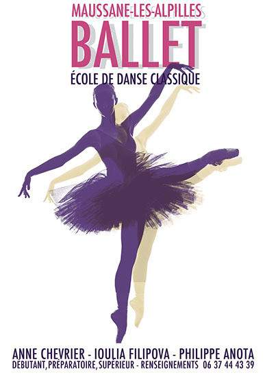 """Ballet - École de Danse """"BALLET"""" à Maussane-les-Alpilles"""