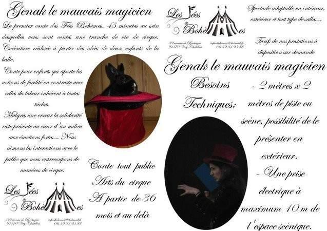 Les Fées Bohèmes - Genak le mauvais magicien