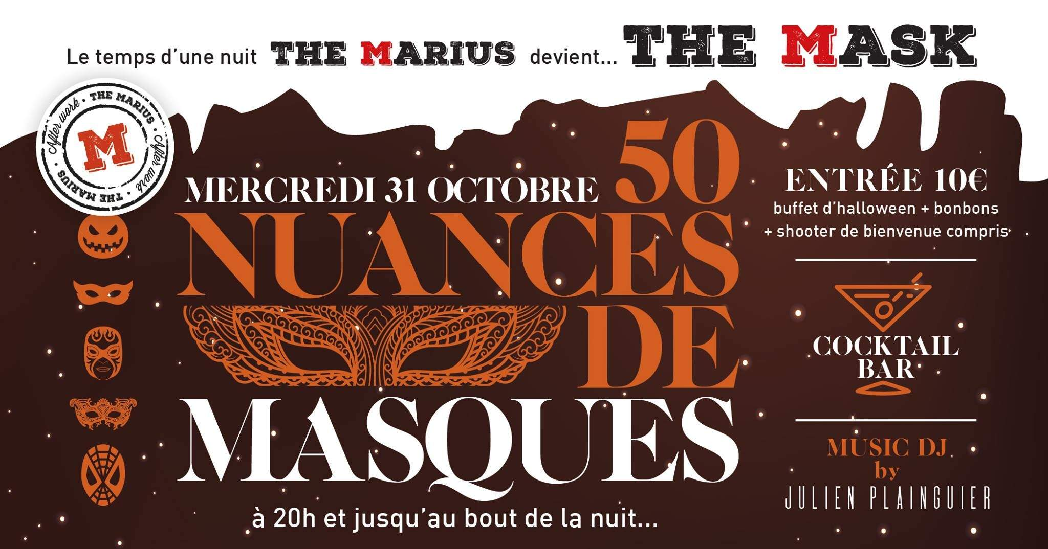The Marius devient The Mask