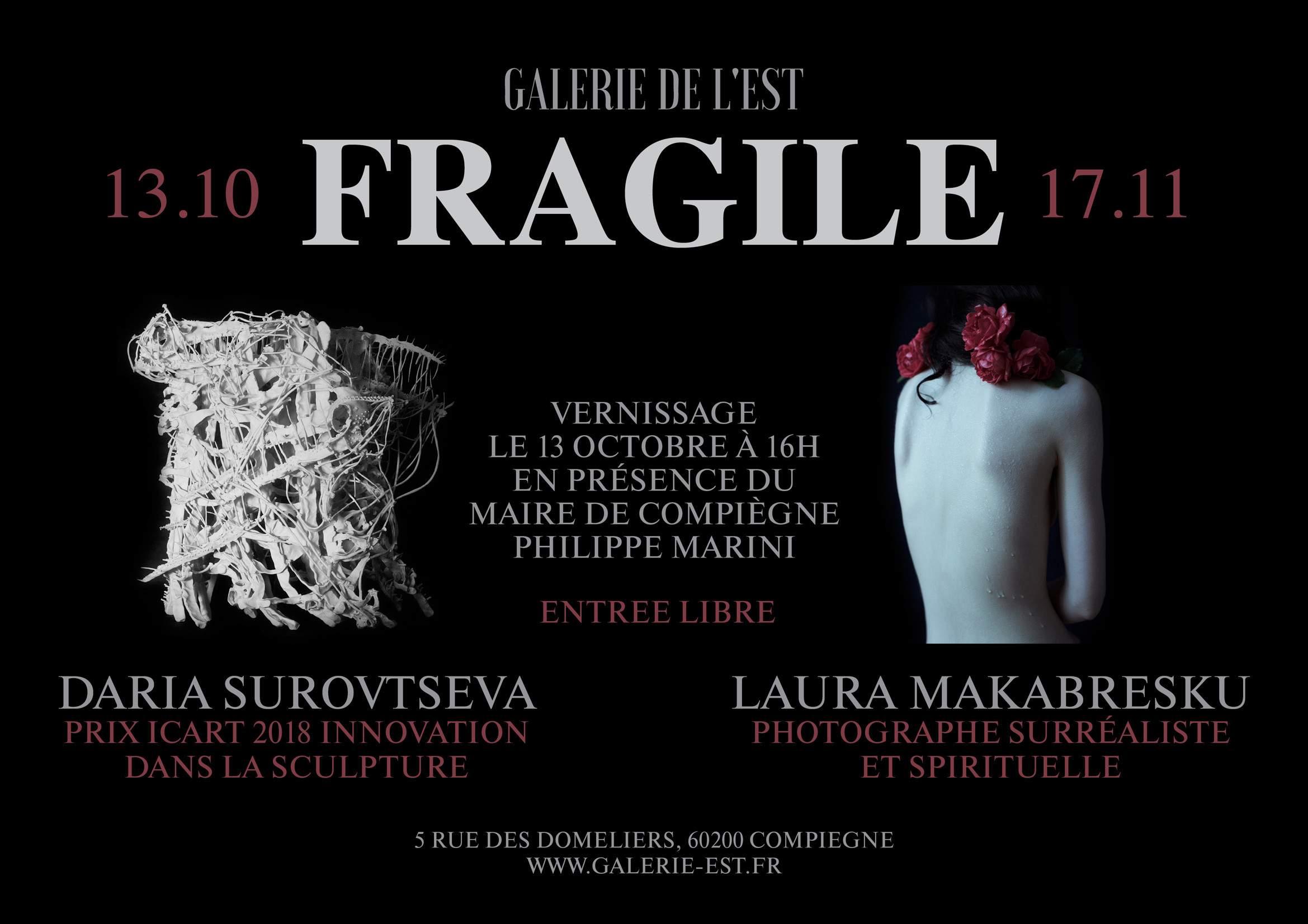 """Fragile"", Daria Surovtseva et Laura Makabresku"