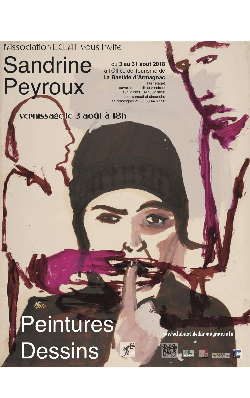 Sandrine Peyrous : peintures et dessins