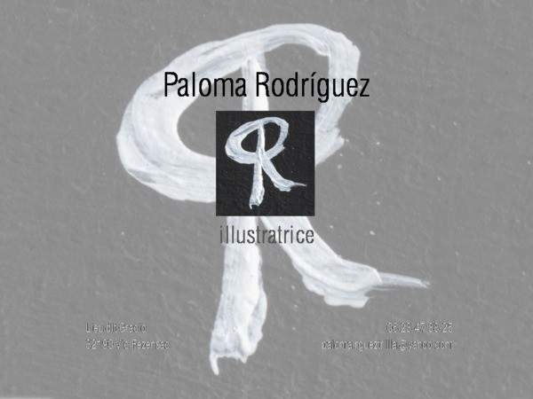 Paloma RODRIGUEZ - Illustration / graphisme / peinture