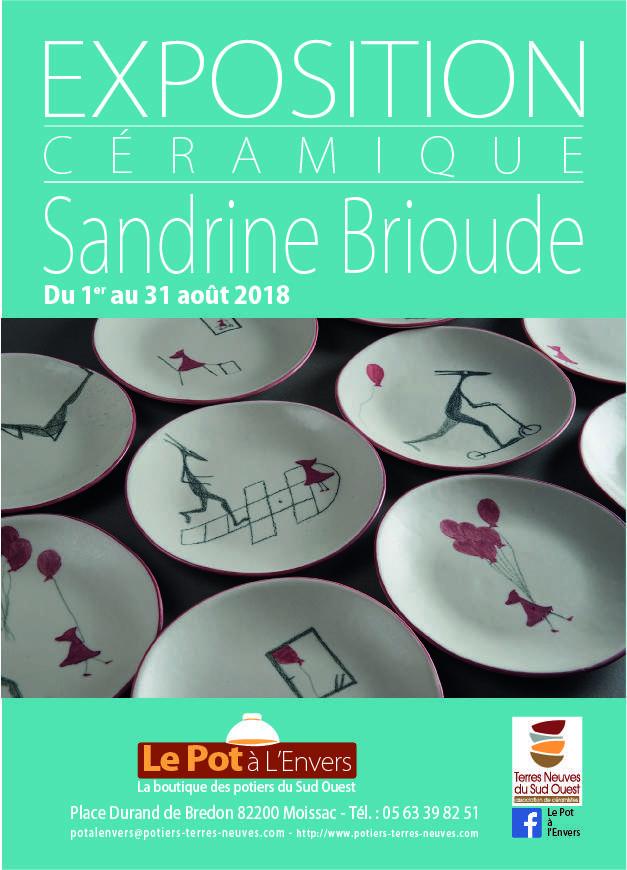 Exposition Sandrine Brioude