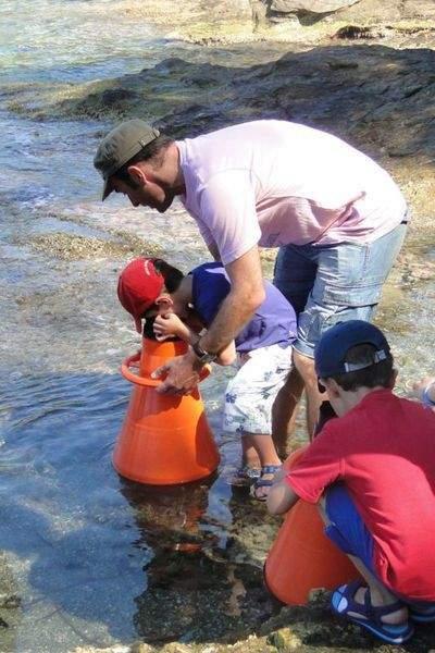 Activité familles : Les pieds dans l'eau