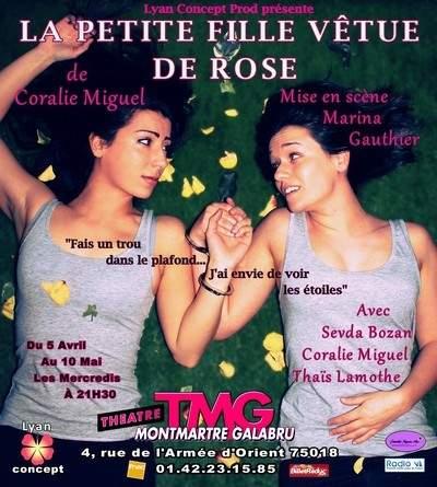 La Petite Fille Vêtue de Rose