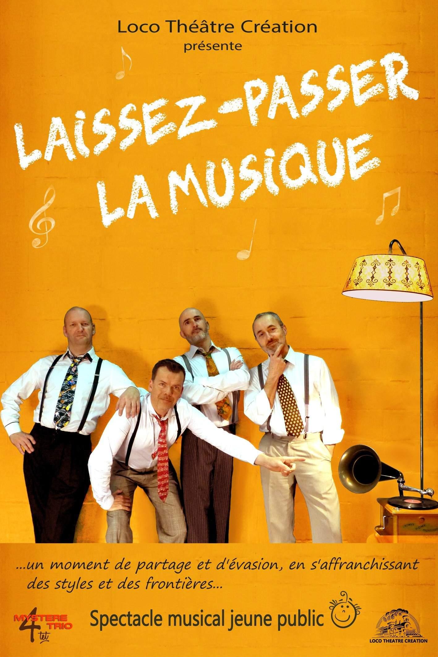"""""""Laissez-passer la musique""""  Mystèretrio Quartet"""