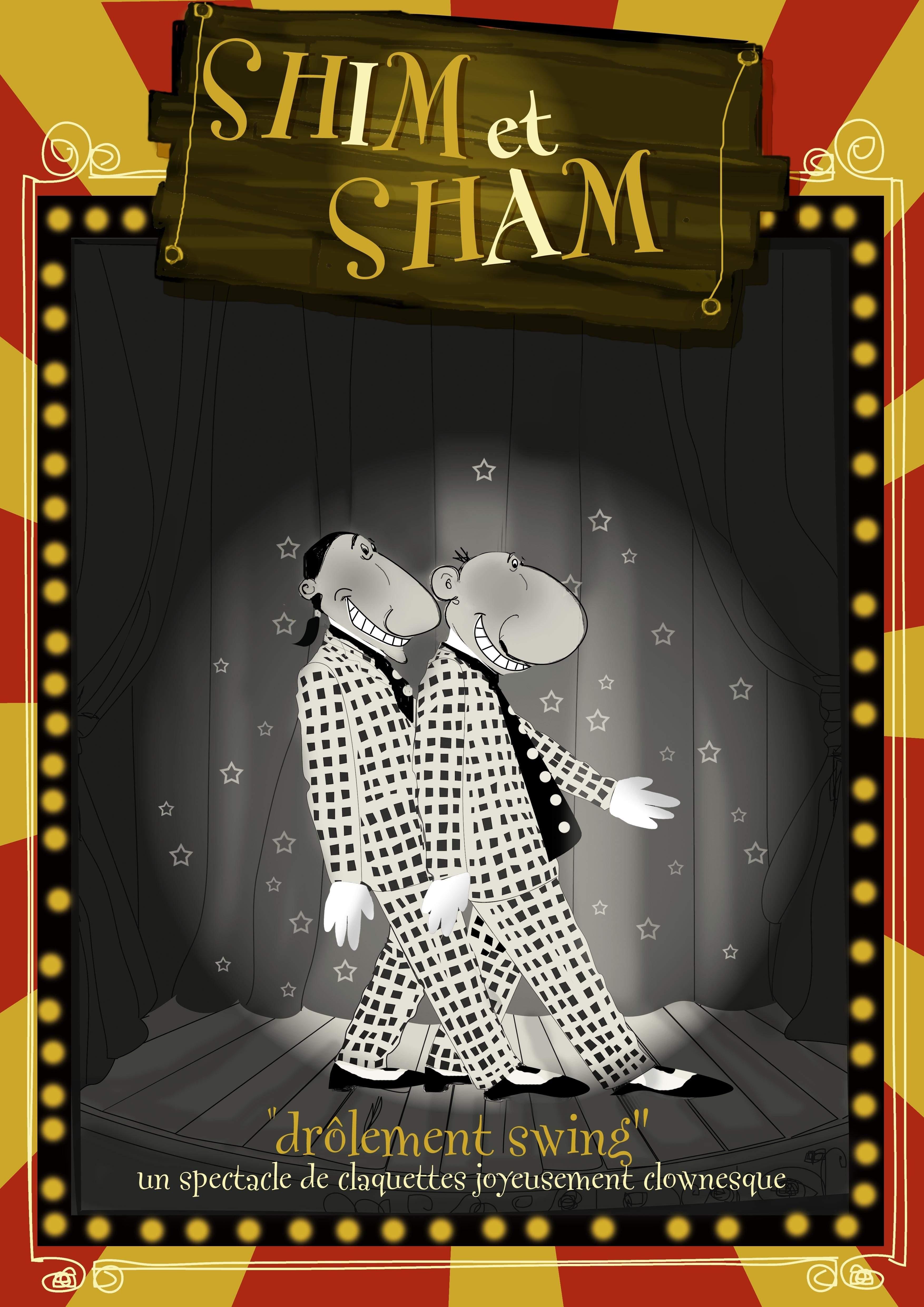 """Shim & Sham - """"Drôlement Swing""""  Comédie burlesque tout public  Humour et Claquettes"""