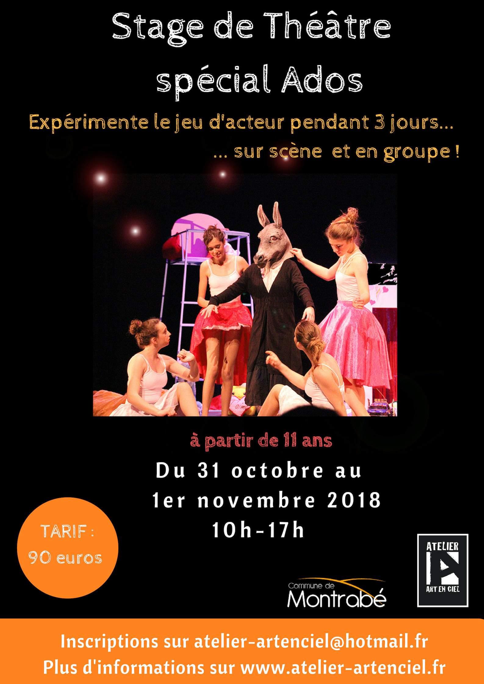 Stage de Théâtre pour les adolescents