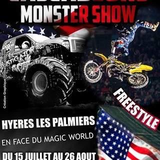 Les Cascadeurs Monster Show à Hyères