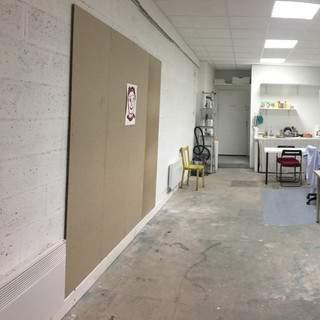 location d'atelier pour exposition temporaire
