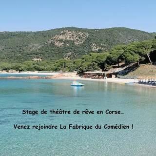 Stage théâtre en Corse juillet 2018