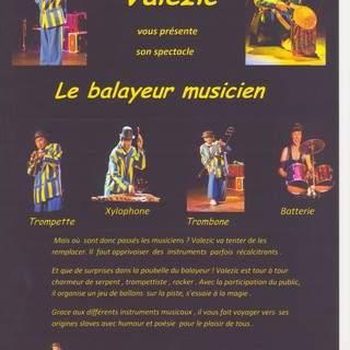 Valezic - clown musicien Valezic
