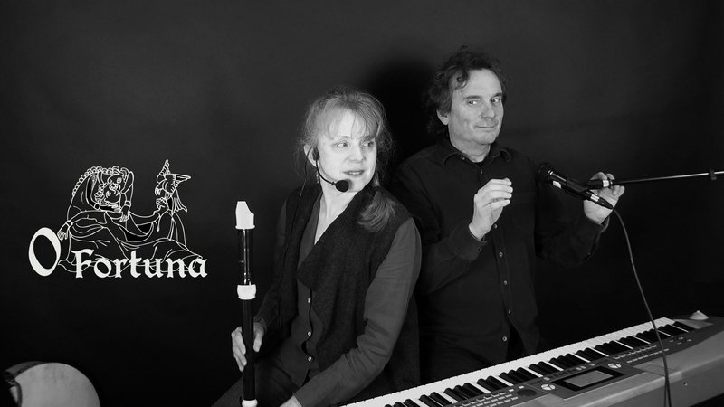 O FORTUNA - Duo vocal et instrumental - animations musicales & concerts