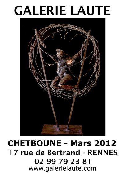 D.Chetboune - bronzes- invité d'honneur de la Galerie Laute