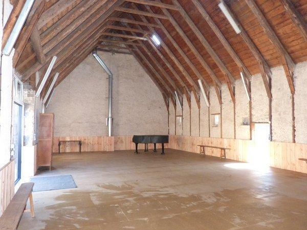 lieu de stage avec salle d'activités de 150m²