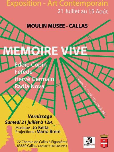 MEMOIRE VIVE